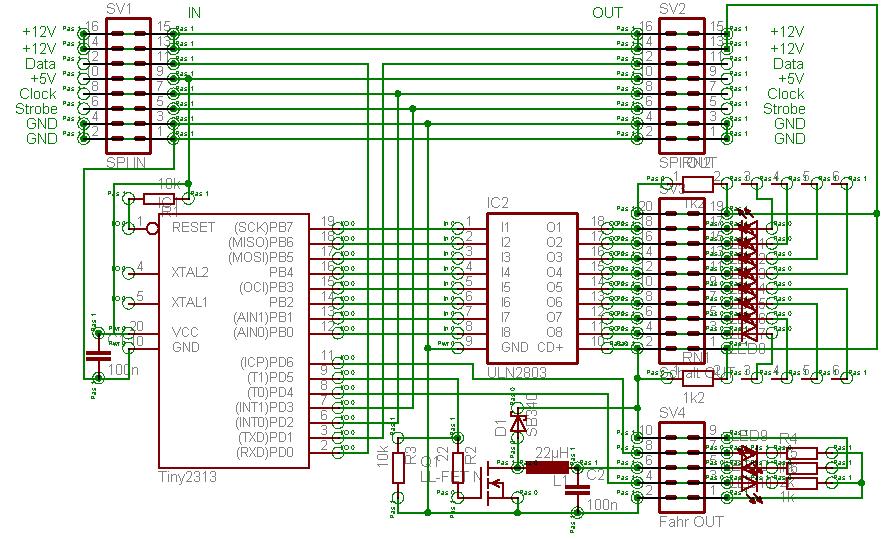 lexa modellbahnsteuerung hardware zum testen und entwickeln. Black Bedroom Furniture Sets. Home Design Ideas